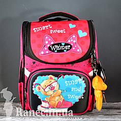 Ранец ортопедический + сумка для обуви Мишка 2005