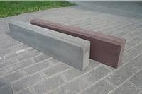 Бордюр тротуарный (дорожный) 500х200х43