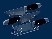 Подставка на 3 ножа VIP, акрил 5 мм, фото 1