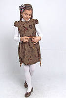 М -790 Сарафан детский для девочки . Рост 110, фото 1
