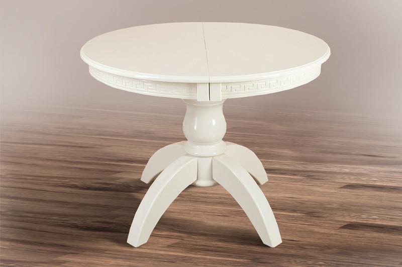Круглий стіл Престиж 1.0м (слонова кістка)