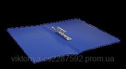 Папка A4 з боковим притиском JOBMAX, синій