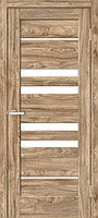Двери межкомнатные Рино 06 G NL дуб Ориндж, фото 1