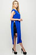 Женский молодежный летний костюм с шортами Клора / размер 44-52 / цвет электрик, фото 2