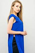 Женский молодежный летний костюм с шортами Клора / размер 44-52 / цвет электрик, фото 5