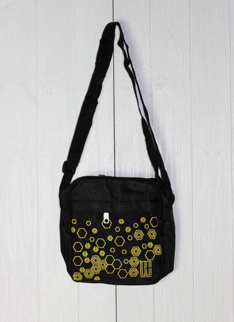 Удобная сумка унисекс через плечо с абстрактным принтом