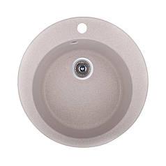 Мойка для кухни гранитная Fosto Gran Мойка D470 SGA-350 (карамель)