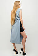 Женский молодежный летний костюм с шортами Клора / размер 44-52 / цвет серый, фото 2