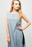 Женский молодежный летний костюм с шортами Клора / размер 44-52 / цвет серый, фото 3