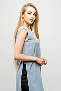Женский молодежный летний костюм с шортами Клора / размер 44-52 / цвет серый, фото 4