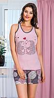 Женская одежда Lady Lingerie комплект майка и шорты 7403 L
