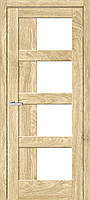 Двери межкомнатные Рино 08 G NL дуб Саванна