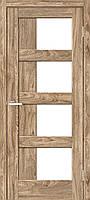 Двери межкомнатные Рино 08 G NL дуб Ориндж