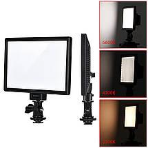 Світлодіодний накамерне видеосвет Viltrox L116T bicolor CRI95+ LED 3300K-5600K, фото 2