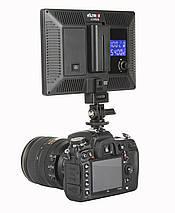 Світлодіодний накамерне видеосвет Viltrox L116T bicolor CRI95+ LED 3300K-5600K, фото 3