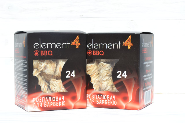 Разжигатели огня ТМ Element4 из древесной шерсти