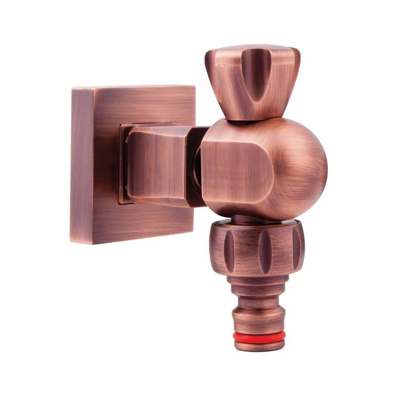 Садовый кран (вентиль) с быстросьемным соединением InGENIUS IG400GB 13128