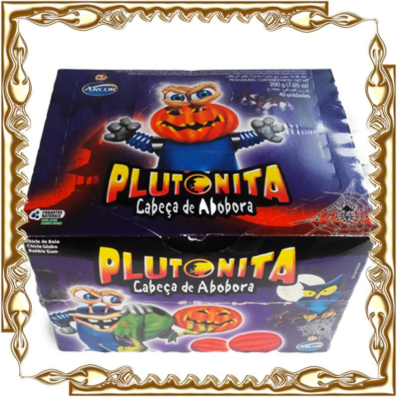 Жувальна гумка Plutonita Cabeca de Abobora 4,5 гр. 40 шт/уп.