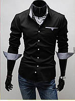 Стильная сорочка мужская, фото 1