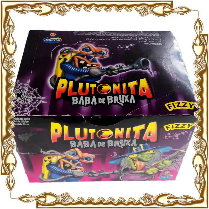 Жувальна гумка Plutonita Baba de Bruxa 4,5 гр. 40 шт/уп.