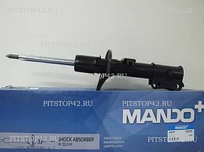 Амортизатор подвески (стойка в сборе) перед лев (газ/масло) (EX546501E000) MANDO