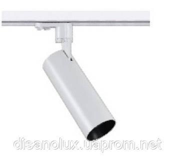 Світильник трековий світлодіодний на шинопровід COB 12W 5000K LONG AC185-265V, Білий