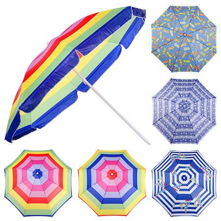 Зонт пляжный d2.4м MH-0042 , фото 2