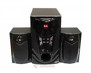 Акустическая система 2.1 Optima OPT-3000BT блютуз, USB, фото 2