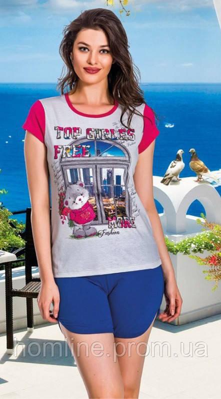 Женская одежда Lady Lingerie комплект майка и шорты 7520 M