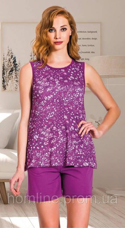 Жіночий одяг Lady Lingerie комплект майка і шорти 7551 L
