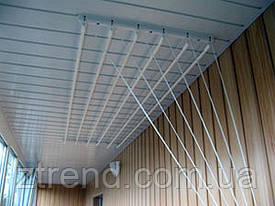 Сушилка для белья и одежды 1.7м на 6 прутьев потолочная Польша