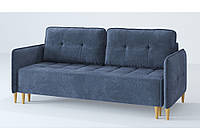 Мягкий диван Sofyno Джерси 221х105х100 см раскладной 200х150 см, фото 1