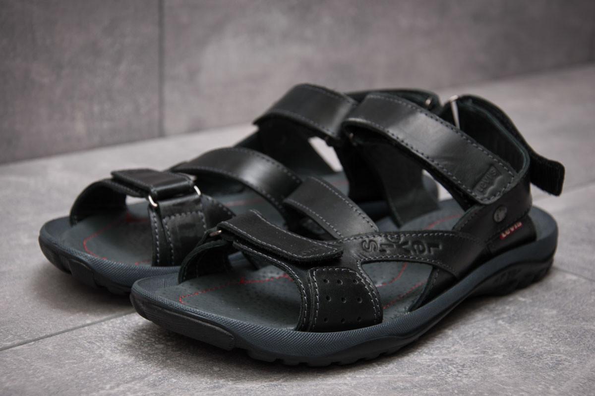 Шлепанцы мужские Levi's Summer, черные (13571),  [   40 41 42 43 44 45  ]