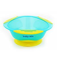 Тарелочка на присоске Baby Mix RA-D2-1100