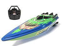 Гоночный катер на р/у Venis RC boat C202B Зеленый (hub_hJPj00014)