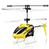 Вертолет на р/у Syma Falcon W25 с гироскопом 23 см Желтый (hub_hJPj00011)