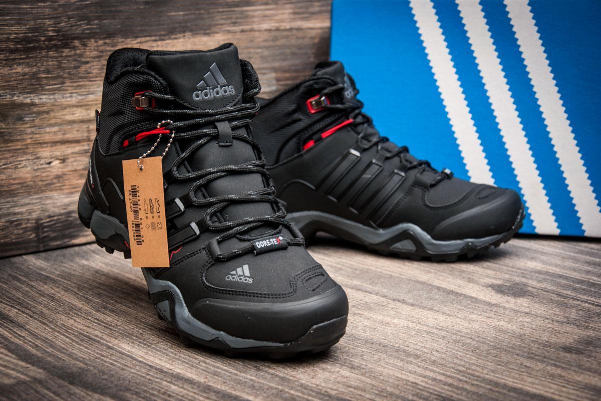 01a5eccc ... [ Зимние кроссовки в стиле Adidas Fastr TEX, черные (3179-4), ...