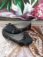 Детская обувь «Калория»  туфельки для девочки