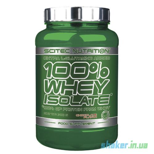 Сывороточный протеин изолят Scitec Nutrition 100% Whey Protein Isolate (700 г) скайтек вей  banana