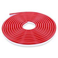 Светодиодная лента, неон 12В JL 2835-120 W IP65 красный, герметичная