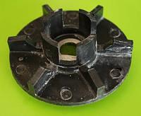 Крыльчатка водяного насоса (помпы) ЯМЗ 236-238 нового образца пластмассовая