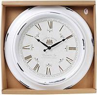 Часы настенные Winchester Ø46см, состаренный белый