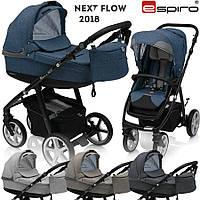 Универсальная коляска 2 в 1 Espiro Next Flow, 2018