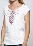 Вишита футболка. Жіночі вишиванки. Стильні вишиванки. Українські сорочки., фото 3