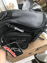 Мото сумка на бак Alpinestars магнитах (Honda, Suzuki, Dainese, Yamaha), фото 3