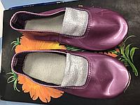 Чешки кожаные лаковые разные цвета, фото 1