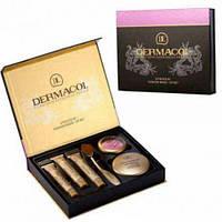 Набор Dermacol Make-up set тональный крем пудра румяна Современный набор Хорошее качество Купить Код: КДН3386