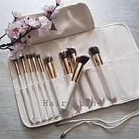 Набор кистей для макияжа из 10 шт Tools For Beauty Makeap Brush
