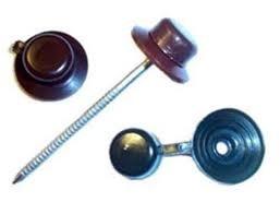 Гвоздь для ондулина с колпачком, красный (упаковка 100 шт.)