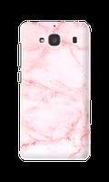 Чехол для Xiaomi Redmi 2 Розовый мрамор с толстыми прожилками опт/розница